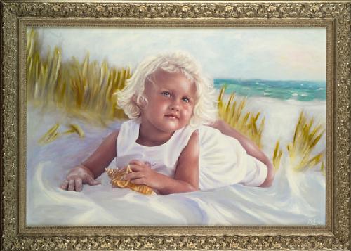 Oil Portraits by Belin Landry, artist/owner Belin\'s Gallery